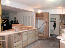 BATHROOMS - CUSTOM CABINETS AND TRIM CARPENTRY, HOUSTON TEXAS