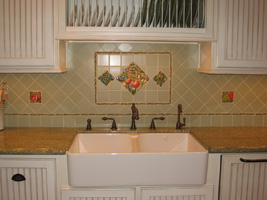 Kitchen farmhouse sink