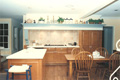 Houston River Oaks kitchen RESTOREd and JOB BUILT cabinets