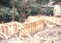 Houston custom home foundation forming