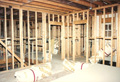 Framing the Houston Memorial custom home
