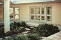 1981 custom home landscaped area