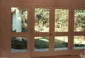 Two pair of a total of 75 exterior doors in custom home