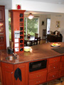 Houston Memorial kitchen island