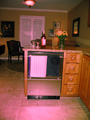 Houston kitchen undercounter fridge
