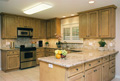 Houston Hunters Creek kitchen JOB BUILT cabinets